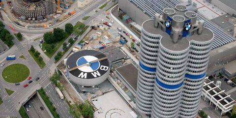 BMW's headquarters in Munich, Germany.