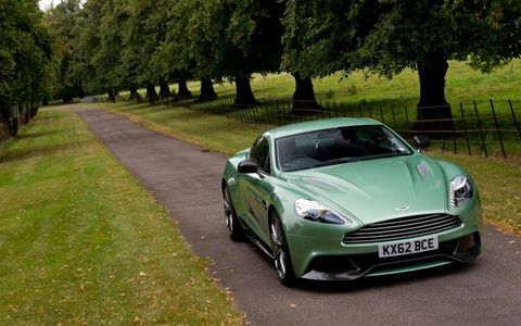 The 2014 Aston Martin Vanquish is the replacement for the outgoing DBS.