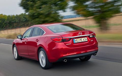 The 2014 Mazda 6 is a great handler no matter which engine sits under the hood. The sedan whips though corners with aplomb, and steering feedback is sportier than what its competitors deliver.