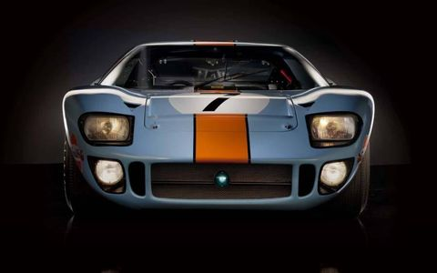 GT40 front.