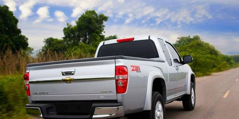 The 2012 Chevrolet Colorado Z71; whether the new Colorado will be brought to the U.S. has yet to be decided.