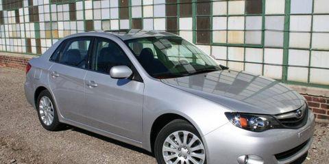 Driver's Log: 2010 Subaru Impreza