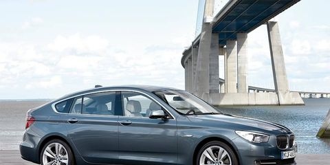 The BMW 5-series GT