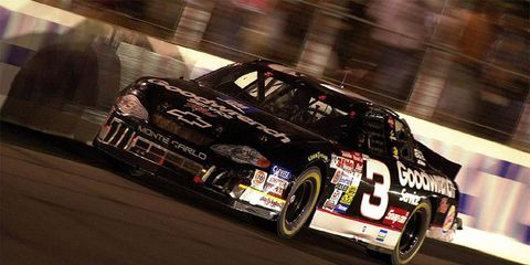 Dale Earnhardt, a seven-time series champion, is among the first five inductees into the NASCAR Hall of Fame. He will appear on a Wheaties box for the second time.
