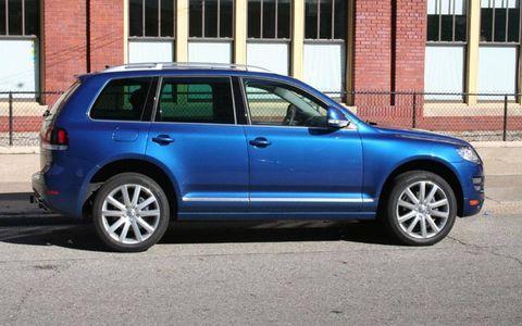 Driver's Log Gallery: 2010 Volkswagen Touareg TDI