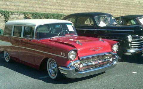 Vehicle, Automotive design, Vehicle door, Car, Classic, Grille, Automotive exterior, Classic car, Bumper, Hood,