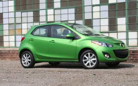 Driver's Log Gallery: 2011 Mazda2