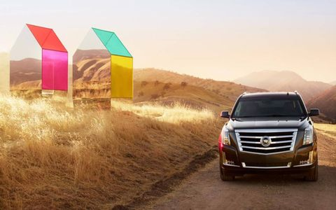 The 2015 Escalade evokes the lines of the former Escalade models while still giving it an updated luxurious look.