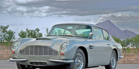 This 1966 Aston Martin DB6 was originally owned by famed singer and actor Bing Crosby.