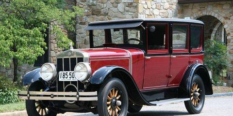 The 1927 Franklin 11B Sedan