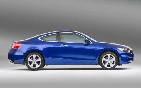 Driver's Log Gallery: 2011 Honda Accord Coupe EX-L