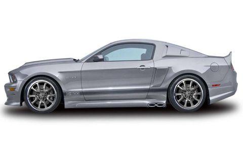 SEMA: Cervinis 2010-2011 C-500 Mustang GT