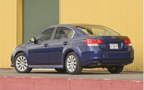 Driver's Log Gallery: 2011 Subaru Legacy Limited 3.6R