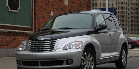 Driver's Log Gallery: 2010 Chrysler PT Cruiser Couture Edition