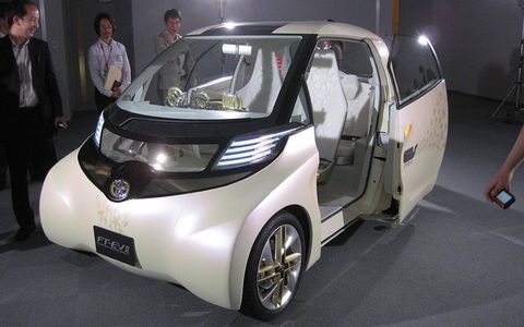 Toyota says the FT-EV II is a compact EV designed for short distances.