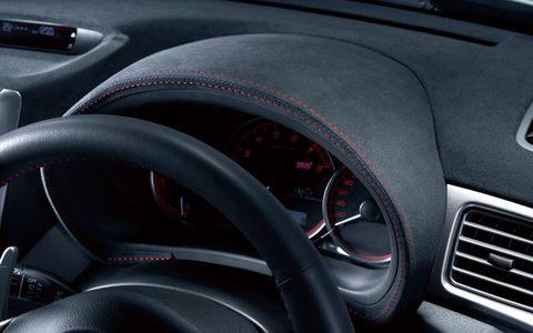 Motor vehicle, Mode of transport, Automotive design, Transport, Steering wheel, Steering part, Red, Car, Speedometer, Gauge,