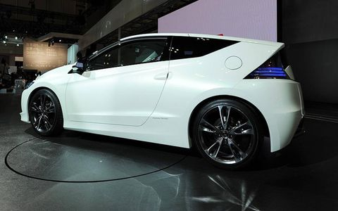 Tokyo auto show: due to hit the streets in the second half of 2010.