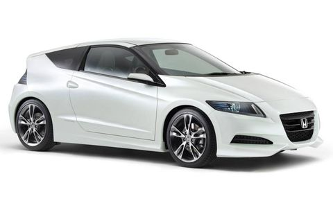 CR-Z stands for Compact Renaissance Zero. To be shown at the Tokyo auto show.