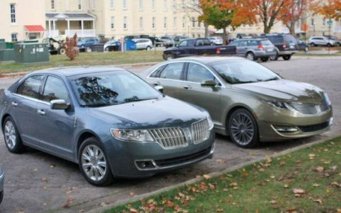Both versions of the Lincoln MKZ share underpinnings with the Ford Fusion, but the new MKZ has taken steps to set itself apart from its mechanical twin both stylistically and mechanically.