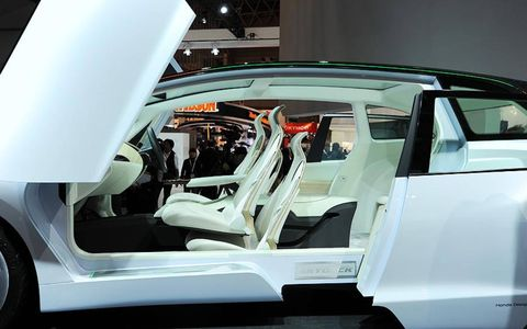 A peak inside at the Tokyo auto show