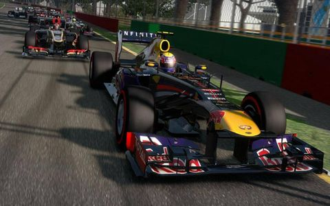 """New content in """"F1 2013"""""""