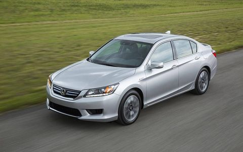 The 2014 Honda Accord Hybrid goes on sale October 31st. Spooky!