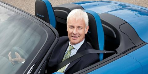 New Porsche chief Matthias Mueller says the automaker will have alternative-propulsion technologies that fit the brand.
