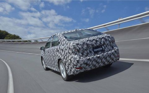 The fuel cell concept that will be shown at the Tokyo Motor Show will have a different body but the same powertrain.