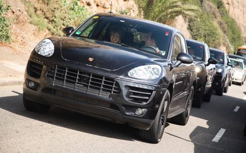 The 2014 Porsche Macan is rumored to debut at the 2013 Los Angeles International Auto Show.