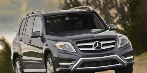 The 2014 Mercedes-Benz GLK250 Bluetec offers a starting price of $38,980.