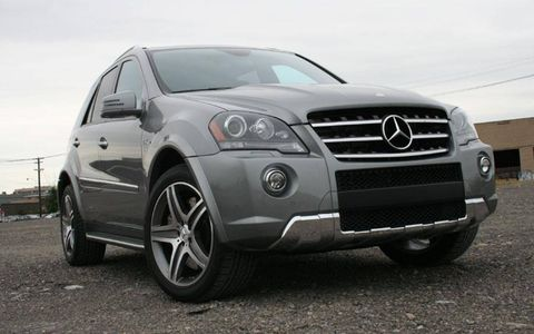 Driver's Log Gallery: 2011 Mercedes-Benz ML63 AMG