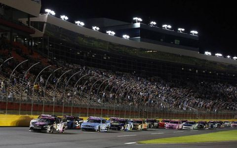 The Nationwide field at Charlotte.