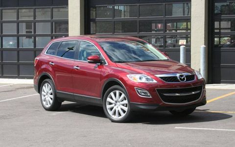 Driver's Log Gallery: 2010 Mazda CX-9 Grand Touring