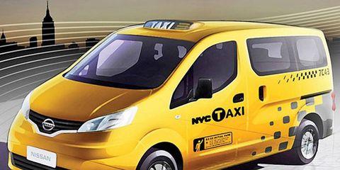 Nissan's NV200 taxi van