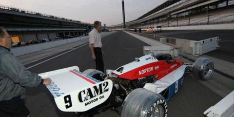 Rick Mear's 1979 Indianapolis 500 winning Penske PC-6/Cosworth