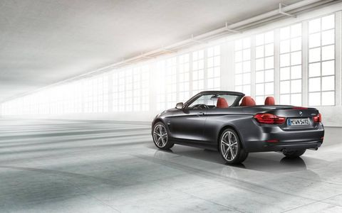 New 2014 BMW 4-series convertible