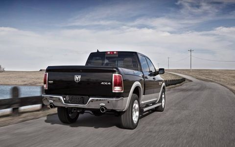 The 2013 Ram 1500 out for a drive review.