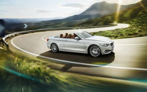 New to the lineup, the BMW 4-series convertible replaces the 3-series convertible.