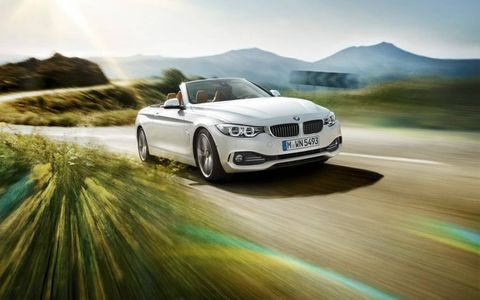 New BMW 4-series convertible brings drop-top motoring to the 4-series lineup.