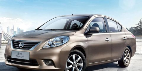 Nissan Sunny for China