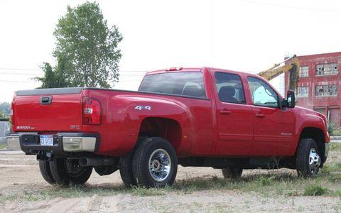Driver's Log Gallery: 2011 GMC Sierra 3500