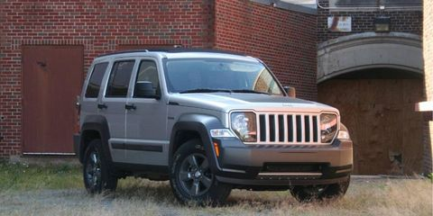 Driver's Log Gallery: 2010 Jeep Liberty Renegade