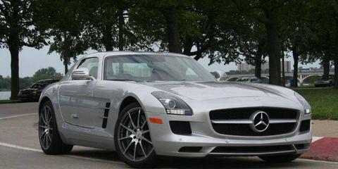 Driver's Log Gallery: 2011 Mercedes-Benz SLS AMG