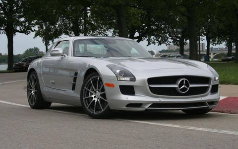 Driver's Log Gallery: 2011 Mercedes-Benz SLS AMG