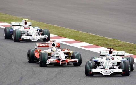 Nico Rosberg, Williams FW30 Toyota, 11th position