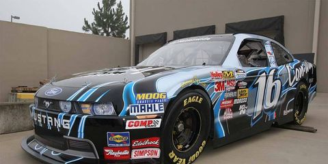 The 2010 NASCAR Nationwide Ford Mustang