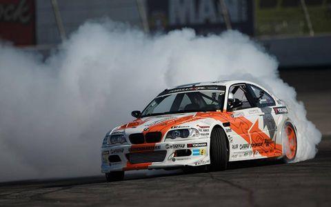 Michael Essa's E46 BMW is the first European car to win a Formula Drift championship.