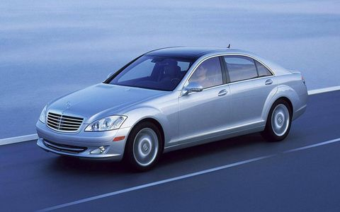 2008 MERCEDES-BENZ CL-CLASS AND S-CLASSMSRP: $105,475 (CL), $88,875 (S) $10,000 factory-to-dealer incentive
