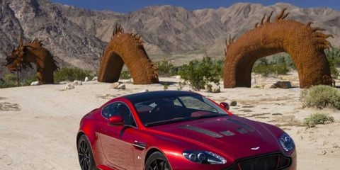 Buyers can get into a 2015 Aston Martin V12 Vantage S starting at $184,995.