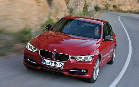 The 2012 BMW 3-series is the sixth generation of the car